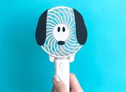 超可愛!史努比掌上風扇讓你清涼一夏